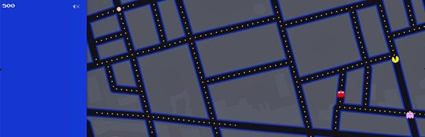 Pac-Man corre su Google Maps - Notizia