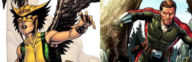 DC Comics: anche Hawkgirl e Rip Hunter nello spin-off di Arrow e Flash - Notizia