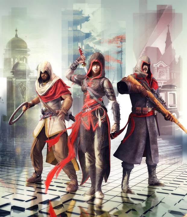 Ubisoft svela la trilogia di Assassin's Creed Chronicles: tre assassini in viaggio verso India, Cina e Russia