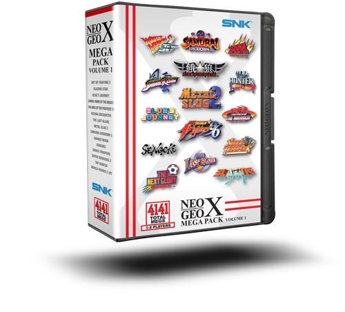 NeoGeo X: prenota il Mega Pack: Volume I