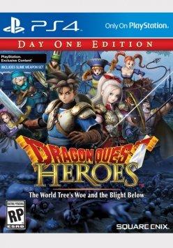 Square-Enix mostra per sbaglio la copertina occidentale di Dragon Quest: Heroes
