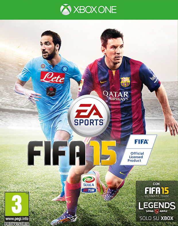 FIFA 15: Gonzalo Higuain testimonial del gioco