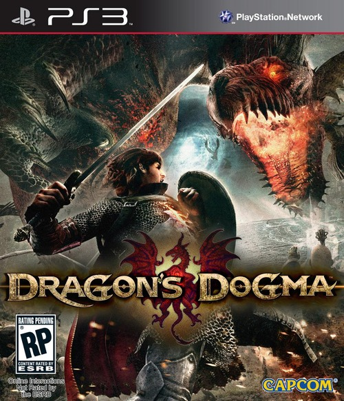 La box art USA di Dragon's Dogma