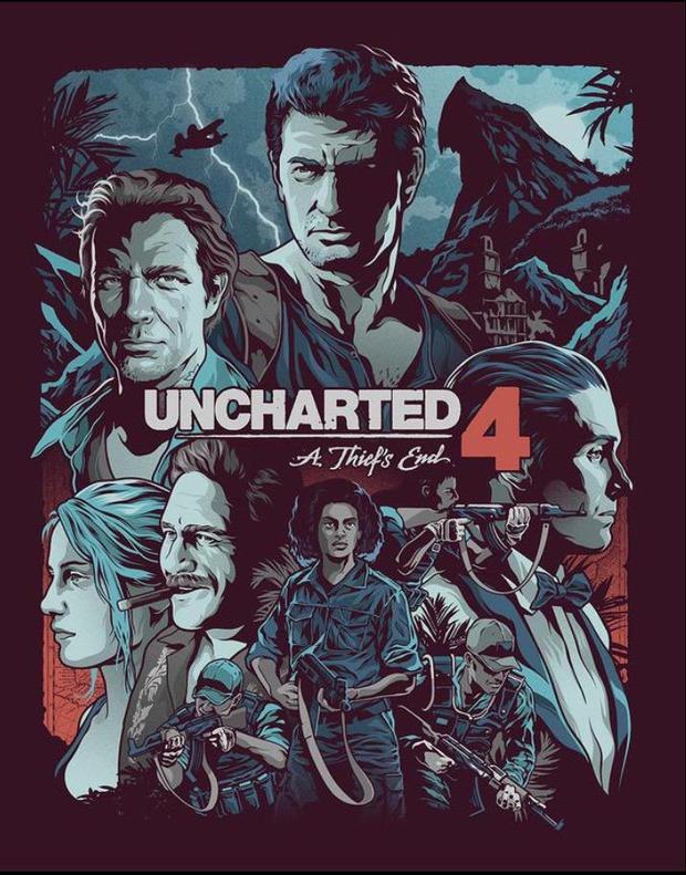 Ecco uno sguardo più dettagliato alla copertina Steelbook di Uncharted 4 A Thief's End