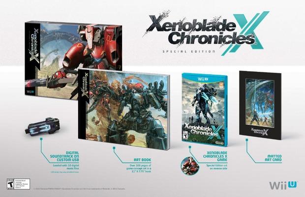 Xenoblade Chronicles X: uno sguardo alla limited edition per il mercato americano