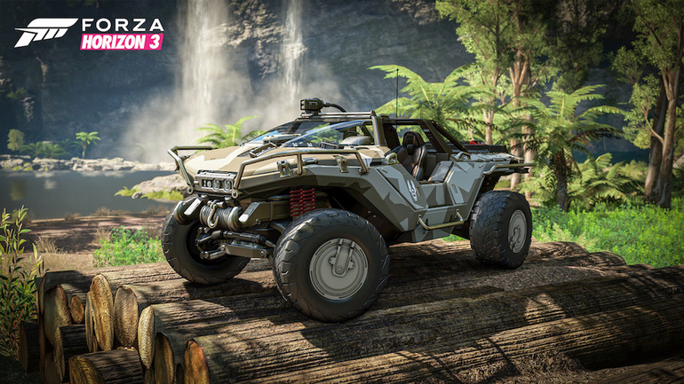 Forza Horizon 3: immagini e video per il Warthog di Halo