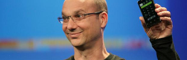 Andy Rubin lascia Google - Notizia