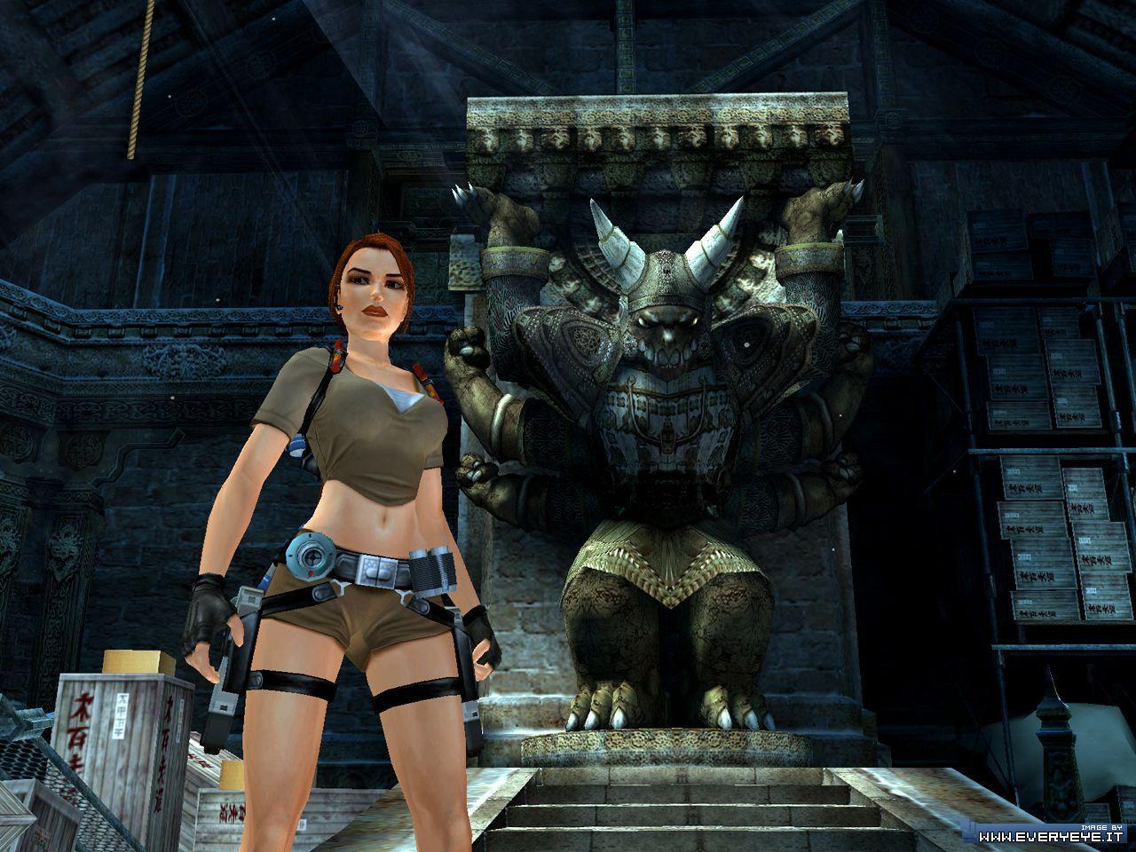 Tomb raider legend nuda sexy model