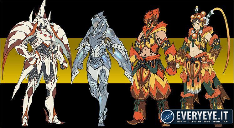 Capcom ha aggiornato il sito  Zaboazagiru Armor