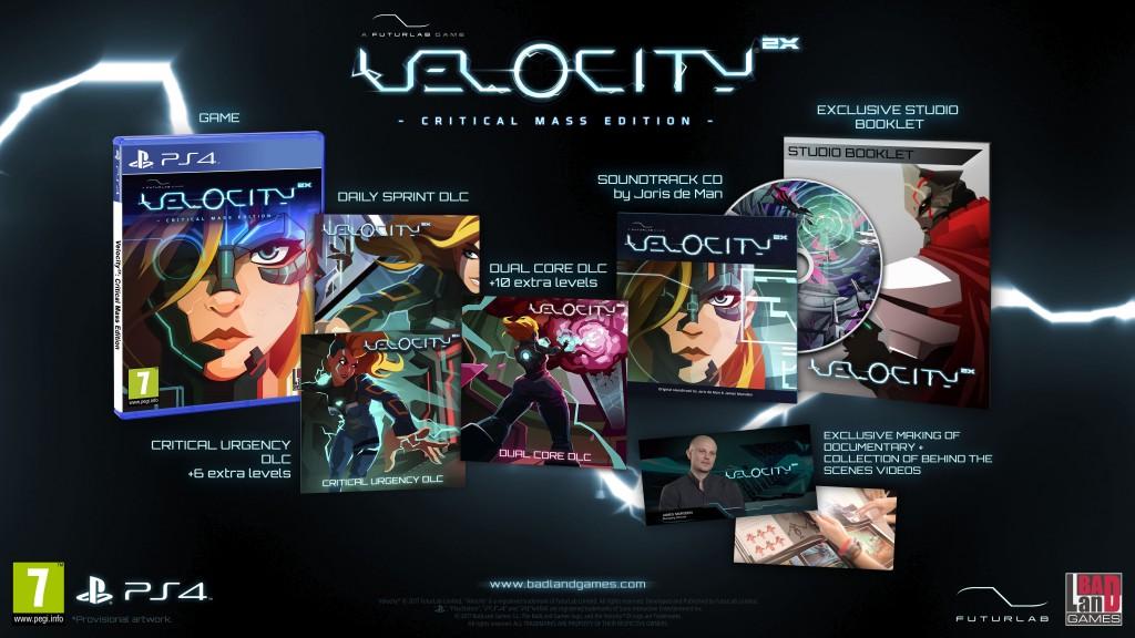 Annunciata la versione retail di Velocity 2X